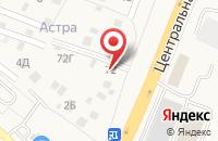 Схема проезда до компании Спектр в Осеево