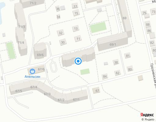 Товарищество собственников жилья «Дема» на карте Уфы