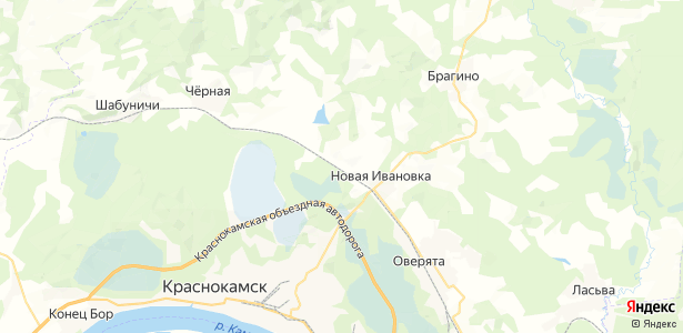 ж/д площадка пос Мишкино на карте