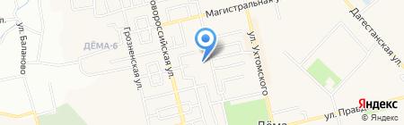 Детский сад №75 на карте Уфы
