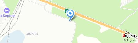 Технодом на карте Уфы