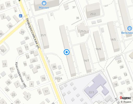 Управляющая компания «ХОЗЯИН ДОМА» на карте Уфы