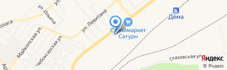 Стальмаркет-Уфа на карте Уфы
