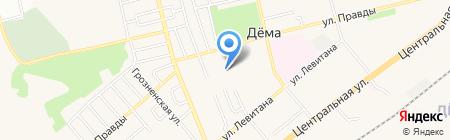 Диспансерное психиатрическое отделение №34 на карте Уфы