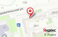 Схема проезда до компании Беловик в Уфе