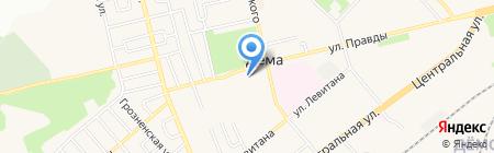 Эскорт-Урал на карте Уфы