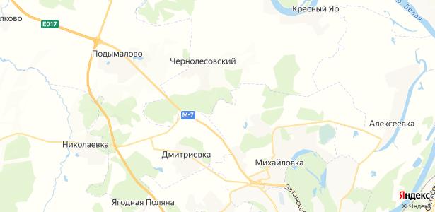 Мударисово на карте