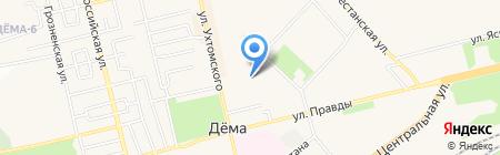 Детский сад №115 на карте Уфы