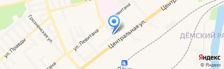 Администрация Демского района городского округа г. Уфа на карте Уфы