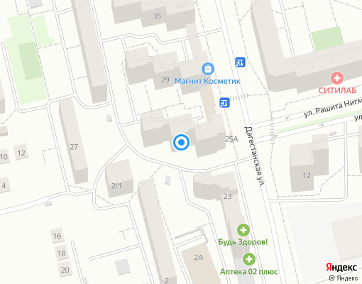 Управляющая компания «АГИДЕЛЬ-ЖИЛСЕРВИС» на карте Уфы