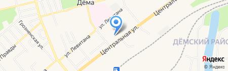 Банкомат Банк ВТБ 24 ПАО на карте Уфы