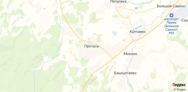 Протасы на карте