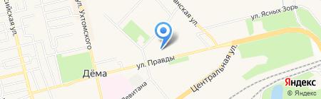 Детский сад №110 на карте Уфы