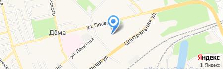 Детский сад №289 на карте Уфы