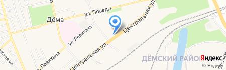 Йомарт на карте Уфы