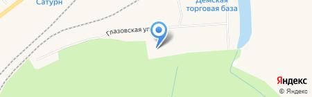 Шаттл-Уфа на карте Уфы