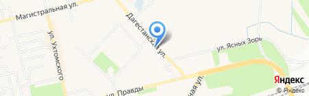 Штучка на карте Уфы