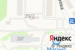 Схема проезда до компании Красная горка в Нижегородке