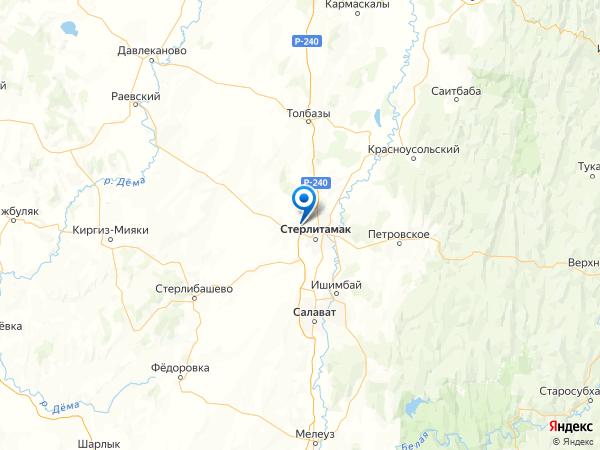 деревня Марьевка на карте