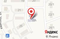 Схема проезда до компании Сказка в Зубово