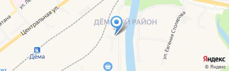ИФЖС-Снаб на карте Уфы