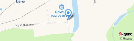 ЮтаГипс на карте Уфы