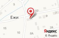 Схема проезда до компании Борисфен в Ежи