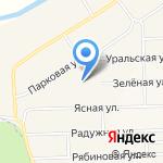 Семицветик на карте Булгаково