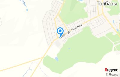 Местоположение на карте пункта техосмотра по адресу Респ Башкортостан, с Толбазы, ул Химиков, д 37