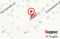 Схема проезда до компании Торговая компания в Шилово