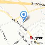 Компания по продаже автомасел и автозапчастей на карте Михайловки