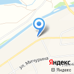 Автолайн на карте Булгаково