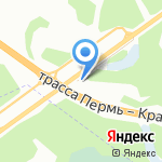 Супчик на карте Перми