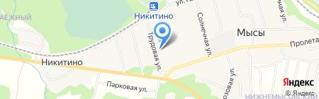 ГеоСнаб на карте Хухрят
