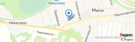 Магазин №8 на карте Хухрят