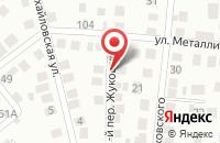 Схема проезда до компании DressFix в Жуковском