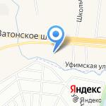 Автосервис на карте Михайловки