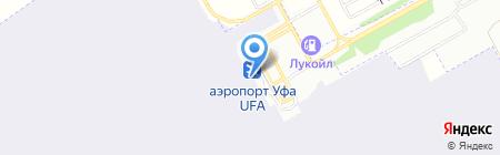 Башкирский гусь на карте Уфы