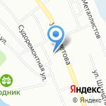 Московская государственная академия водного транспорта на карте Уфы