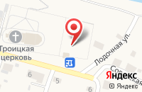 Схема проезда до компании Библиотека в Шилово
