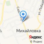 Магазин хозтоваров на карте Михайловки