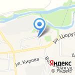 Агрофирма им. Цюрупы на карте Булгаково