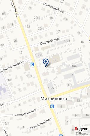 Сервис-центр УФИМСКИЙ на карте Михайловки