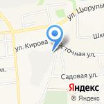 Амега-Строй на карте Булгаково