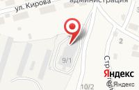 Схема проезда до компании Амега-Строй в Булгаково