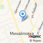 АвтоДвор на карте Михайловки