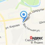 Работница на карте Булгаково