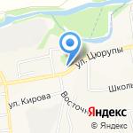 Луч на карте Булгаково