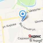 Почтовое отделение на карте Булгаково