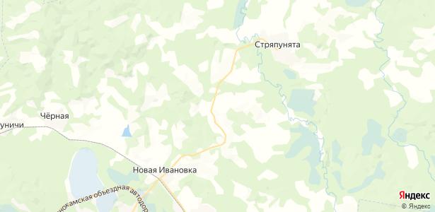 Брагино на карте